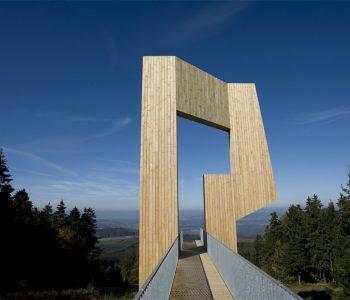 Skulptur Windklang Erbeskop